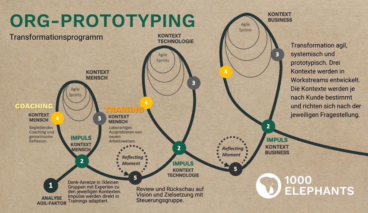 OrgPrototyping - unser Vorgehen für Transformationen
